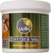 Uulki Pure Snijplank Wax - 100% Natuurlijke en Plantaardige Houtolie & Houtwax 2-in-1 voor Houten Snijplanke, Hakblok, Keukenhulpen (Kooklepel, Spatel, Deegroller, …) – in Europa geproduceerd (250 ml)