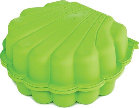 Zandbak Zand en Water schelp (set van 2) - Groen