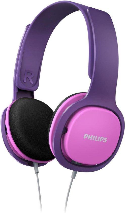 Philips SHK2000 - Kids Koptelefoon - On-Ear Volumebegrenzing - Roze/Paars