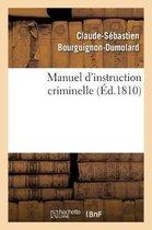 Manuel d'instruction criminelle