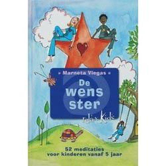 Boek cover Relax Kids - De wens ster van Marneta Viegas (Hardcover)