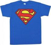 Superman logo t-shirt heren 2xl