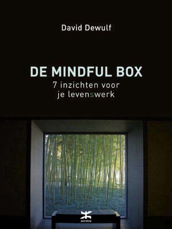 Boek cover De mindful box van David Dewulf (Onbekend)