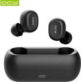 QCY T1C Volledig draadloos In-Ear oordopjes (ZWART)  | Bluetooth 5.0 | Meer dan 20 uur gebruik