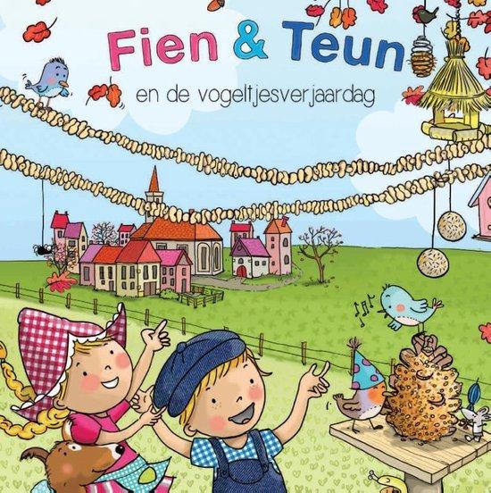 Boek cover Fien & Teun  -   Fien en Teun en de vogeltjesverjaardag van Rene Noorderveen (Hardcover)