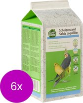 Happy Home Schelpenzand - Vogelbodembedekking - 6 x 2 kg