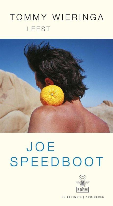 Boekomslag voor Joe Speedboot (luisterboek)
