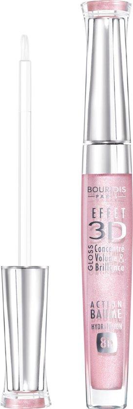 Bourjois Gloss Effect 3D Lipgloss - 29 Rose Charismatic