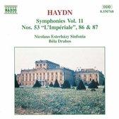 Haydn: Symphonies nos 53, 86 & 87 / Bela Drahos