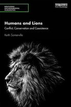 Humans and Lions