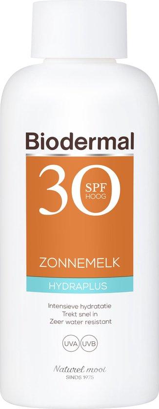Biodermal Zonnebrand - Hydraplus - Zonnemelk - SPF 30 - 200ml
