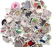 Stickerset Nyancat - Set van 100 stuks