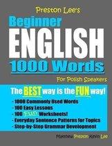 Omslag Preston Lee's Beginner English 1000 Words For Polish Speakers