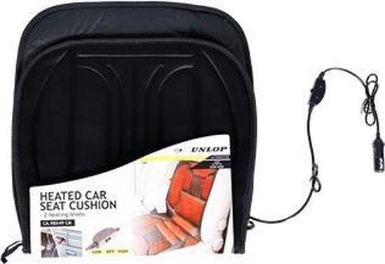 Dunlop Autostoelverwarmer - 12 Volt - met 2 Standen
