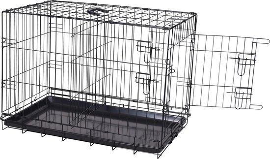 Adori Bench Divider Zwart - Los scheidingspaneel voor hondenbench - 58.6 x 54.5 cm