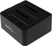 StarTech.com USB 3.1 (10bps) dubbel harddisk docking station voor 2,5 en/of 3,5'' SATA SSD/HDD