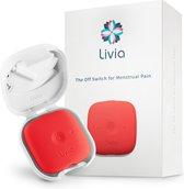Livia - De stopknop voor menstruatiepijn-rood