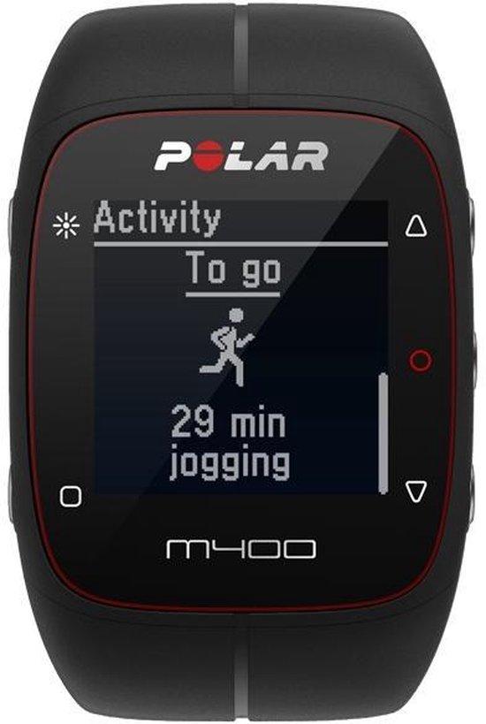 Polar M400 HR - Sporthorloge - Met Hartslagsensor - Zwart