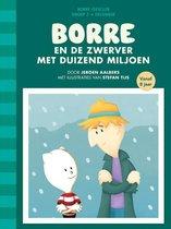 De Gestreepte Boekjes Groep 5 December -   Borre en de zwerver met duizend miljoen