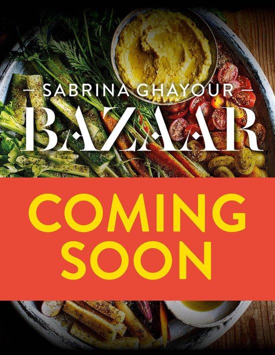 Boek cover Bazaar van Sabrina Ghayour (Hardcover)