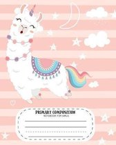 Primary Composition Notebook for Girls