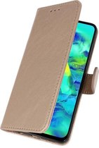 Bookstyle Wallet Hoes voor Samsung Galaxy Note 10 Plus - Goud