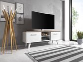 TV Meubel Wit - Scandinavisch Design - 140x38x52 cm