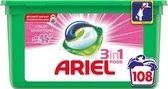 Ariel 3in1 Pods Sensation Pink Wasmiddelcapsules  - Kwartaalbox 3 x 36 Wasbeurten