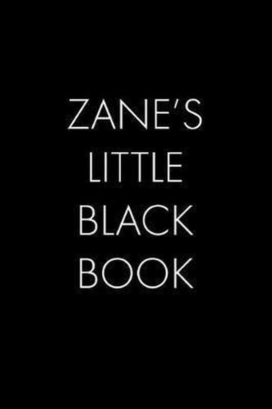 Zane's Little Black Book
