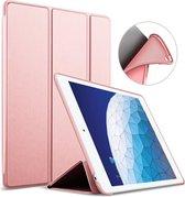 iPad Air 2019 Hoes - 10.5 inch - Smart Book Case Roségoud