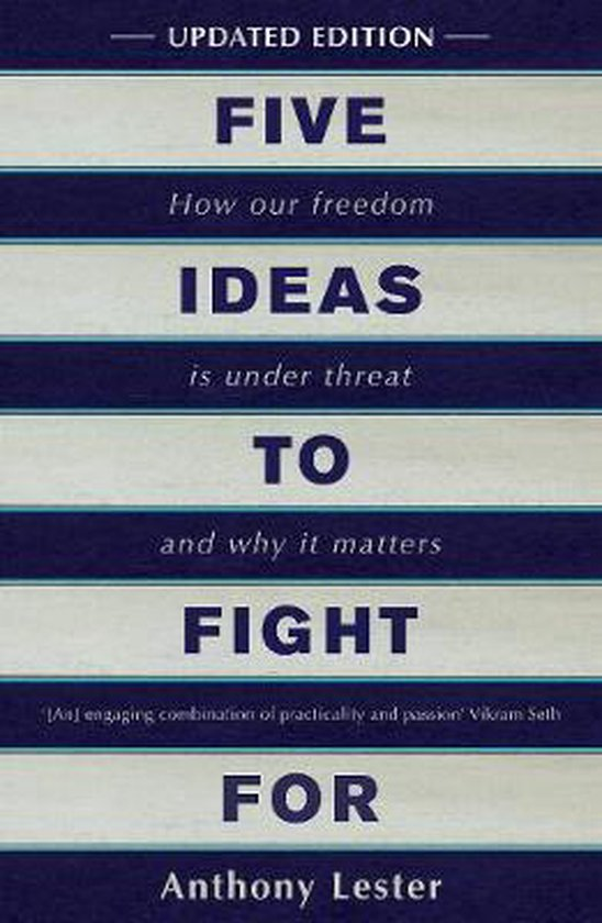 Boek cover Five Ideas to Fight For van Anthony Lester (Paperback)