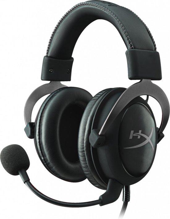 HyperX Cloud II Pro Gaming Headset - PC - Zwart/Grijs