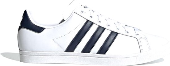 adidas COAST STAR Heren Sneakers - Ftwr White/Collegiate Navy/Ftwr White