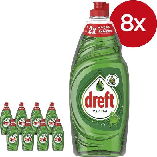 Dreft Original Afwasmiddel - Voordeelverpakking 8x890ml