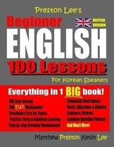 Omslag Preston Lee's Beginner English 100 Lessons For Korean Speakers (British)