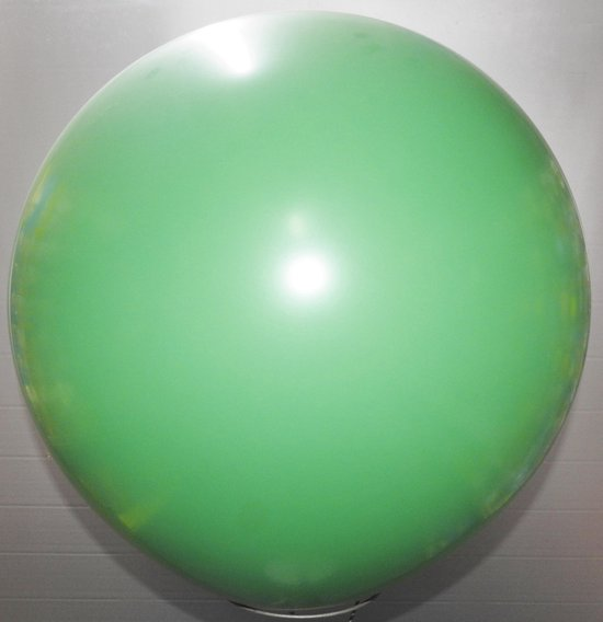 reuze ballon 160 cm 64 inch groen