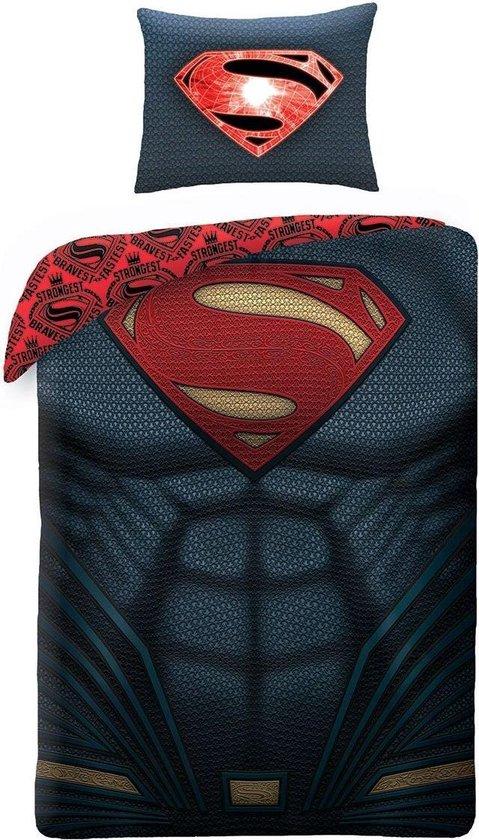 Batman v Superman Dawn of Justice - Dekbedovertrek - Eenpersoons - 140 x 200 cm - Multi