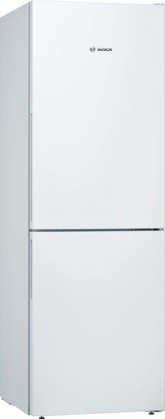 Koelkast: Bosch KGV33VW31 - Serie 4 - Koel-vriescombinatie - Wit, van het merk Bosch