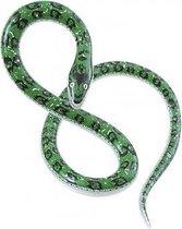 Halloween - Opblaasbare groene slang 152 cm