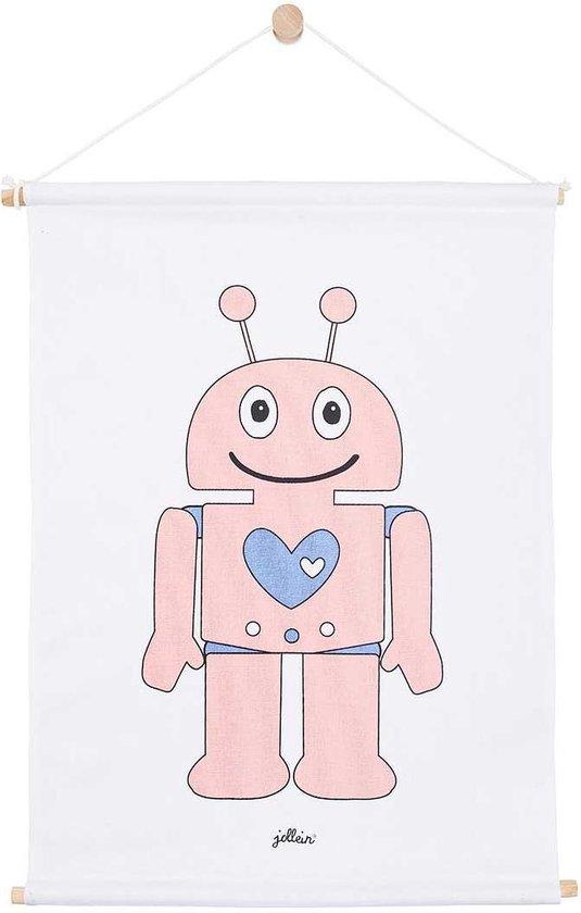 Jollein poster Robot pink