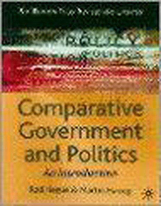 Boek cover Comparative Government and Politics van Rod Hague (Paperback)
