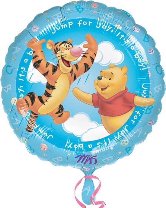 Folieballon Jump for Joy It's a Boy