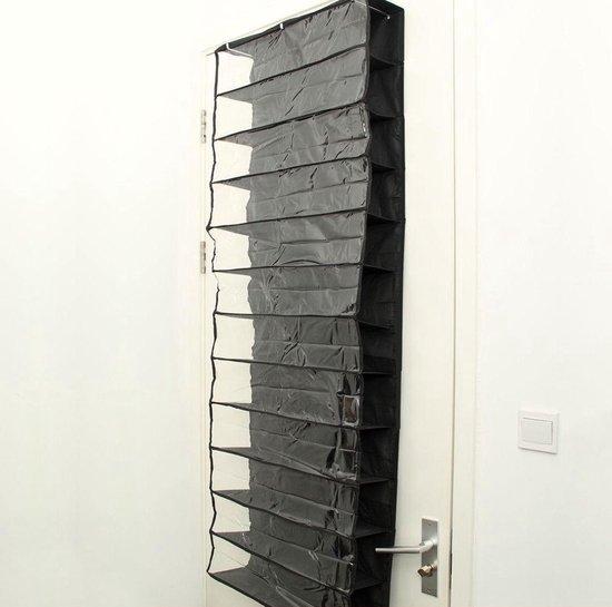 Deur Schoenenrek - Hangend Opbergsysteem - Zwart