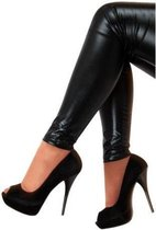 Legging zwart stretch Maat L / XL