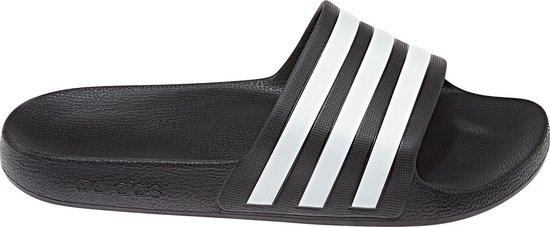 adidas Adilette Aqua Heren Slippers - Core Black/Ftwr White/Core Black - Maat 46