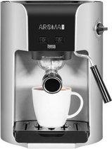 Teesa TSA4002 - Aroma 300 Espressomachine, zilver