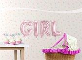 Folat - Folieballonnen - GIRL - 4dlg.