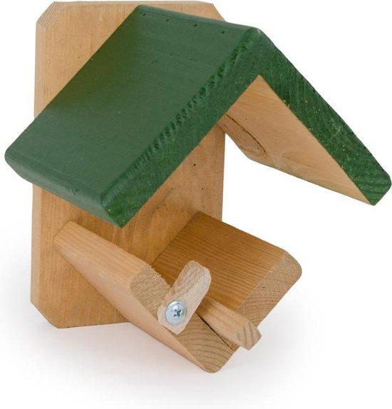 CJ Wildbird Pindakaaspot vogelvoederhuisje - Groen/Bruin - CJ Wildbird