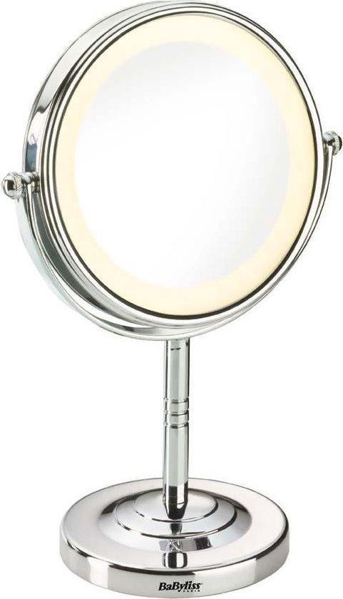 BaByliss 8435E Spiegel met Ringverlichting - Make-upspiegel - Ø11cm