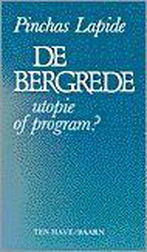 BERGREDE - UTOPIE OF PROGRAM? - Lapide |